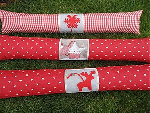 Úžitkový textil - Vankuš-valec pod okno - Do drevenice - - 3188242