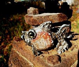 Náhrdelníky - Rybička -jaspis leopardí-prívesok tiffany - 3191317