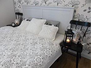 Úžitkový textil - Deka a vankúšiky - ako prehoz v spálni  - 3195850