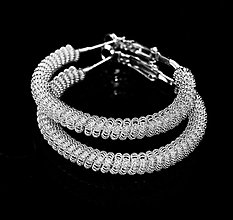 Náušnice - Pure lace - 3197979