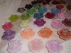 Svietidlá a sviečky - Plávajúce ružičky - rôzne farby - 3199681