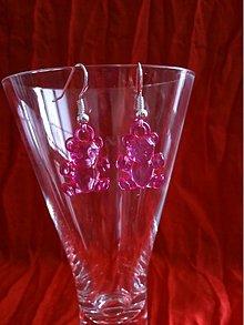 Náušnice - Náušničky mackovia pre malé aj veľké slečny - 3204119