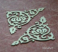 Polotovary - Výrez z lepenky ornament - 3212494