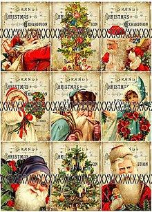 Papier - Vánoční sada nažehlovacích obrázků VS16 - 3212995