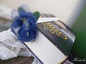 Papiernictvo - Čítam s modrým kvetom II... - 3215619