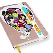 Papiernictvo - Zápisník A6 Praskne mi hlava - 3218036