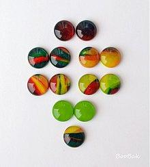 Náušnice - Z najkrajšej jesennej palety - 3221269