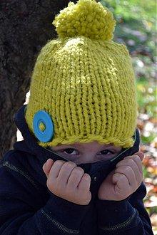 Detské čiapky - Čiapka s reflexným prvkom - 3222730