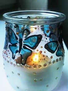 Svietidlá a sviečky - na motýlích krídlach - 3223456
