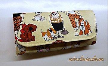 Peňaženky - Harmonika velká 19x10cm - 4 karty - 3223721