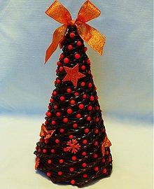 Dekorácie - Vianočný paper stromček - 3225914