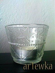 Svietidlá a sviečky - svietniček na čajovú sviečku - 3228257