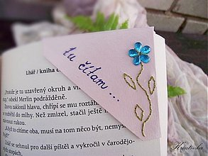 Papiernictvo - Čítam s kvetinou... - 3231032