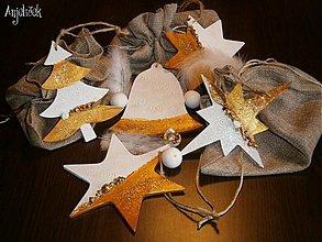 Dekorácie - Sada vianočné ozdoby - 3234039