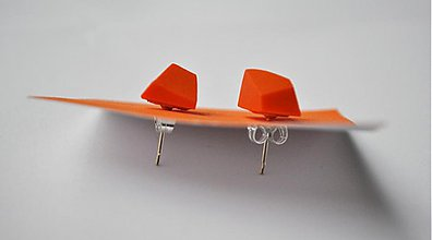 Náušnice - Astoria earrings orange - 3234527