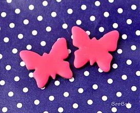 Náušnice - Mici motýle - 3235984