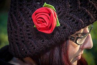 """Odznaky/Brošne - Brošňa - """"Red Rose"""" - 3236242"""