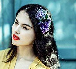 Ozdoby do vlasov - BLUE Autumn by Hogo Fogo - 3239618