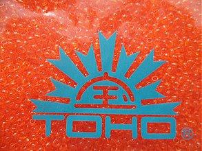 Korálky - TOHO round transparent 2,2mm-10g (6-Hyacinth) - 3240594