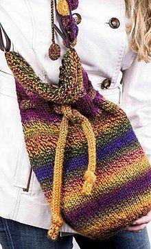 Veľké tašky - Melírovaná kabela - 3242292