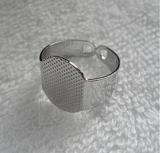 Komponenty - Základ na prsteň-plôška15x10mm-1ks - 3242601