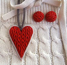 Sady šperkov - Red velvet - 3246737