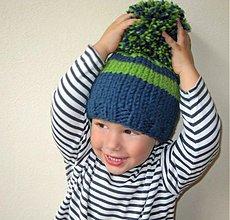 Detské čiapky - brmbrmbolec najväčší:))) - 3246867