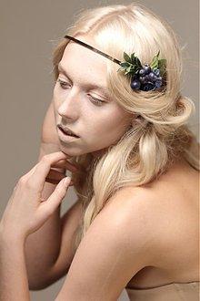 Ozdoby do vlasov - Blue Berry by Hogo Fogo - 3247190