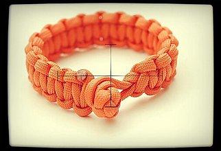 Náramky - Paracord Survival Bracelet   diamantový uzol - 3247877