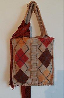 Veľké tašky - Kosoštvorce alebo tak trocha geometrie - 3248640