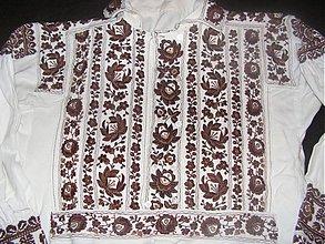 Oblečenie - Košeľa vyšívaná Pliešovce - 3249888