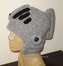 Detské čiapky - Čiapočka prilba - 3250242