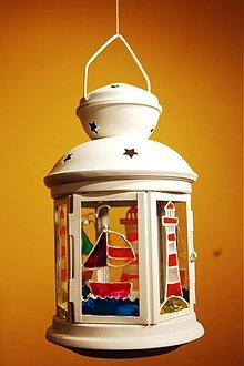 Svietidlá a sviečky - Prímorský lampášik - 3250632