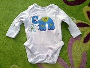 Detské oblečenie - Sloníkové body - 3256975