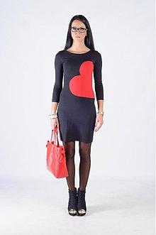 Šaty - HEART DRESS__SINGLE & FABULOUS - 3257152
