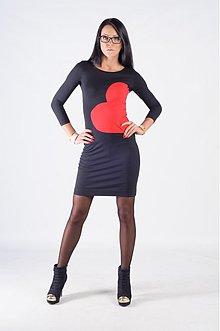 Šaty - Šaty so srdcom - 3257161