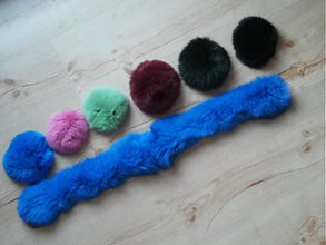 Suroviny - Lem na kapucu farebný králik - 3260985