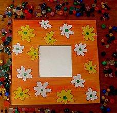 Zrkadlá - zrkadlo - veľké kvety - 32648