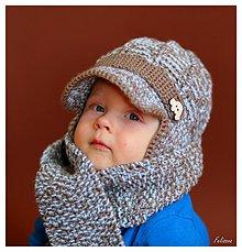 Detské čiapky - keđ vonku vládne pani zima.... - 3267552