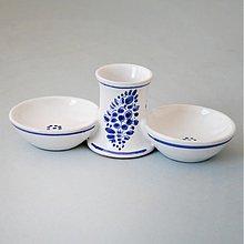 Nádoby - Pepř + sůl + párátka 16 cm - 3267629