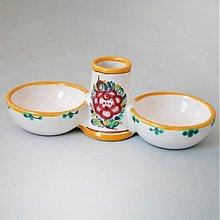 Nádoby - Pepř + sůl + párátka - 3267646