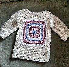 Detské oblečenie - Teplé šaty na zimu.. - 3269715