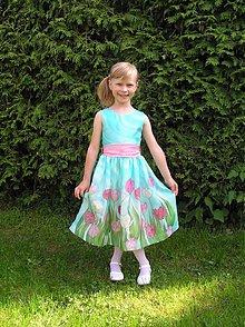 Detské oblečenie - Tulipánová princeznička z hodvábnej krajiny.. - 3272953