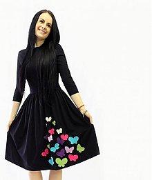 Šaty - City love...motýle - 3278594