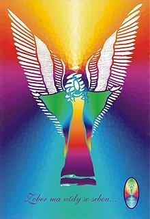 Grafika - ANJELI s NAMI - sada 10 ks anjelských obrázkov - 3280878