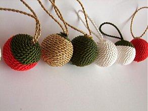 Dekorácie - Točené vianočné gule - 3281521