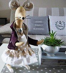 Bábiky - Myška nezbednica - 3283271