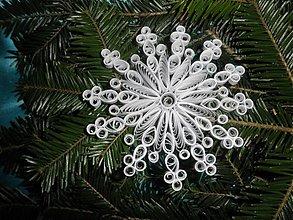 Dekorácie - Snehová vločka - 3284674