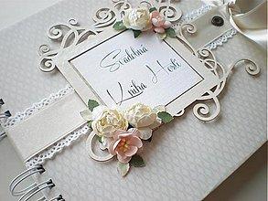 Papiernictvo - Svadobná kniha hostí - 3287068