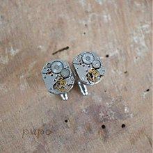 Šperky - Strojkové manžetové knoflíčky - 3290496
